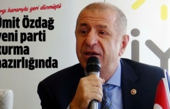 Ümit Özdağ'dan yeni parti hazırlığı
