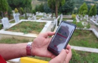 Aileler zahmet çekmeden mezarlarını buluyor