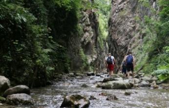 """Saklı cennet """"Serindere Kanyonu"""" keşfedilmeyi bekliyor"""