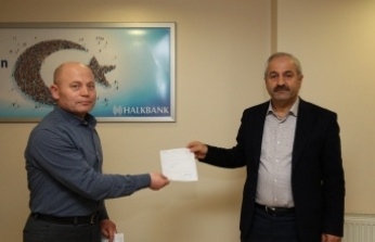 Başkan Büyükgöz'den Kampanyaya Bağış Desteği
