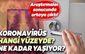 Koronavirüs, Yüzeylerde Ne Kadar Canlı Kalabilir?