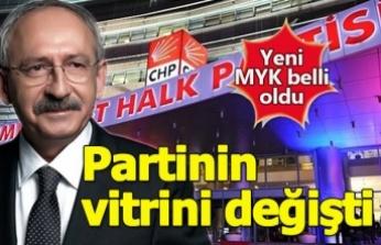 CHP'de Yeni vitrin belirlendi