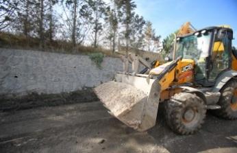 Büyükşehir'den Gebze'de yol yenileme çalışması