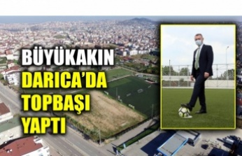 """Başkan Büyükakın, """"Nene Hatun Stadını ve tesislerini yeniliyoruz"""""""