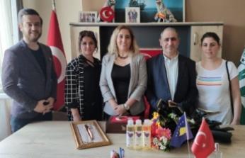 TDP Kadın Kolları Genel Başkanı Ceylan'dan Bursa'ya sürpriz ziyaret