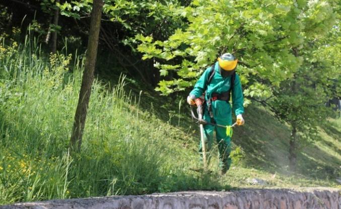 700 personelle yeşil alanlarda bahar temizliği
