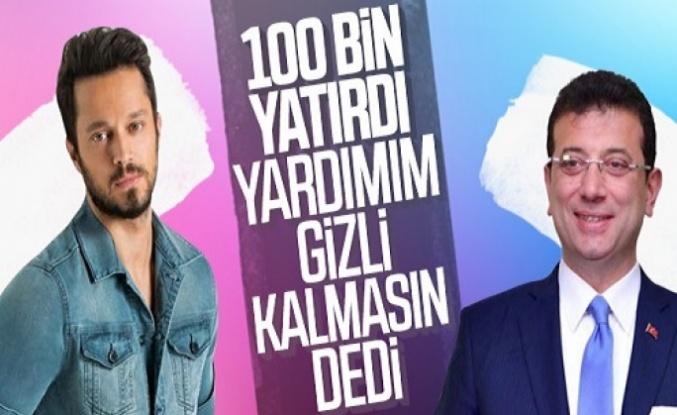 Canan Kaftancıoğlu, Murat Boz'un bağış yaptığını doğruladı