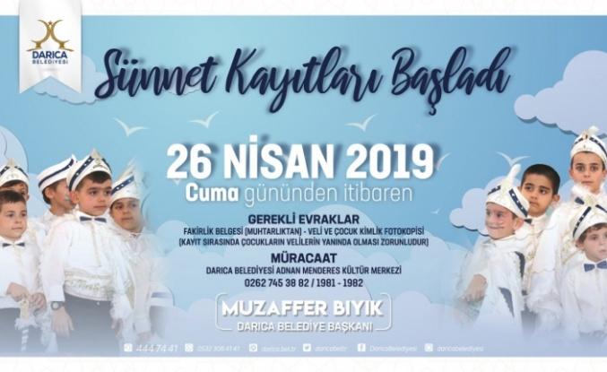 Darıca'da Sünnet kayıtları devam ediyor