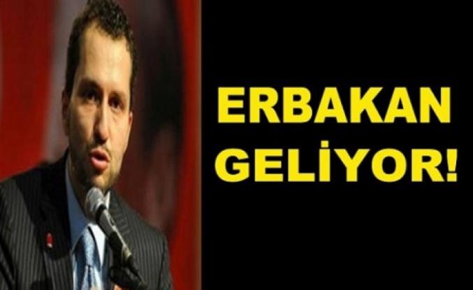 Fatih Erbakan, geliyor