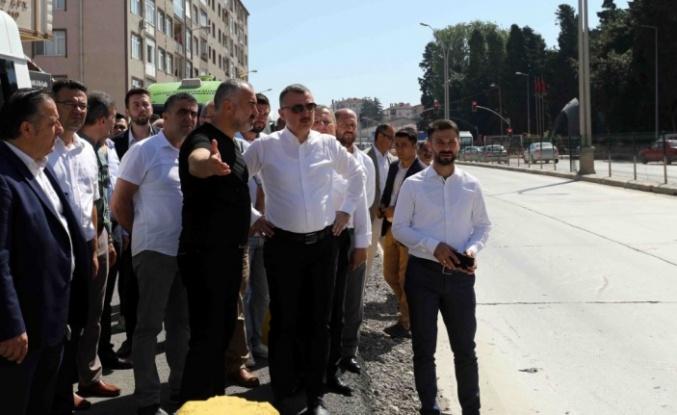 ''Karamürsel Kent Meydanı Köprülü Kavşağı yapılacak''