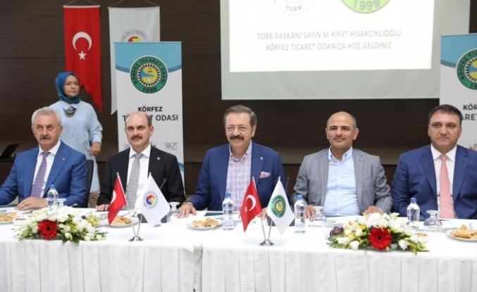 """Rıfat Hisarcıklıoğlu; """"Bizi gururlandırdı"""""""