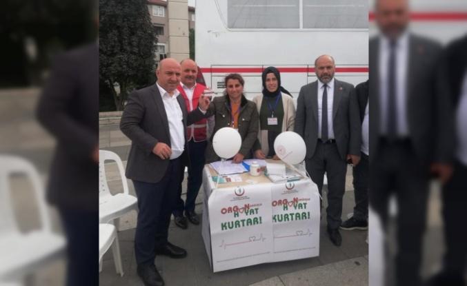 Darıca Belediye Başkanı Muzaffer Bıyık organ bağışında bulundu