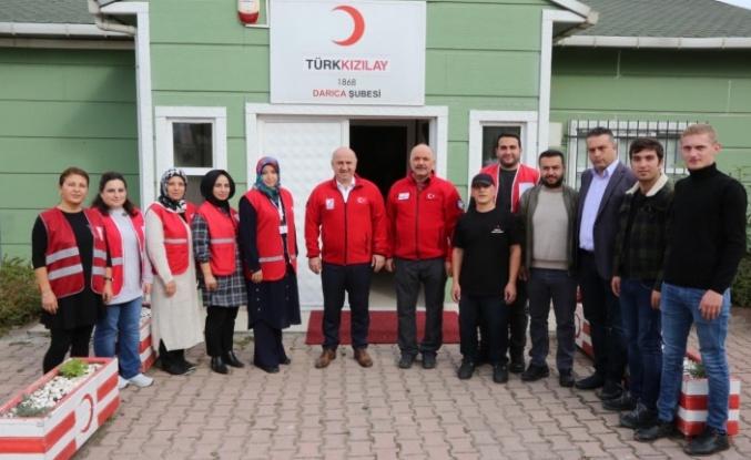 Başkan Bıyık'tan Kızılay'a ziyaret