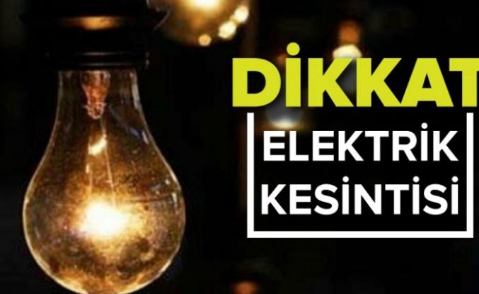 Darıca ve Bayramoğlu'nda Elektrik kesintisi