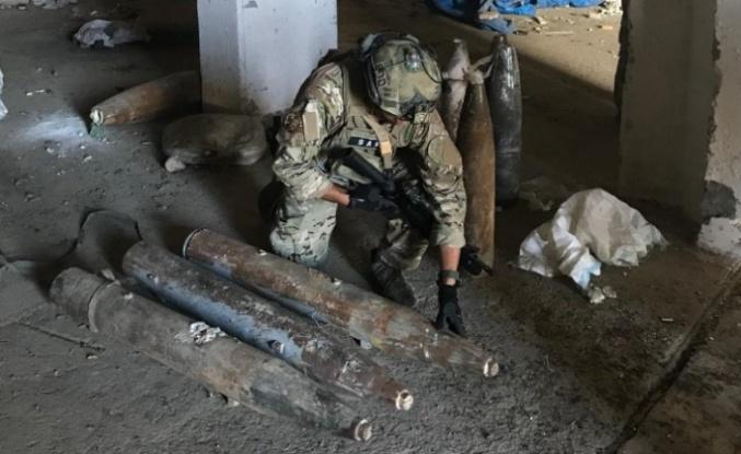 SAS Timlerimiz 11 Adet Patlamamış Uçak Mühimmatını İmha Etti