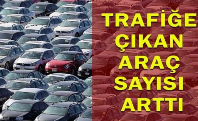 Trafiğe Kaydı Yapılan Araç Sayısı Yüzde 34 Arttı