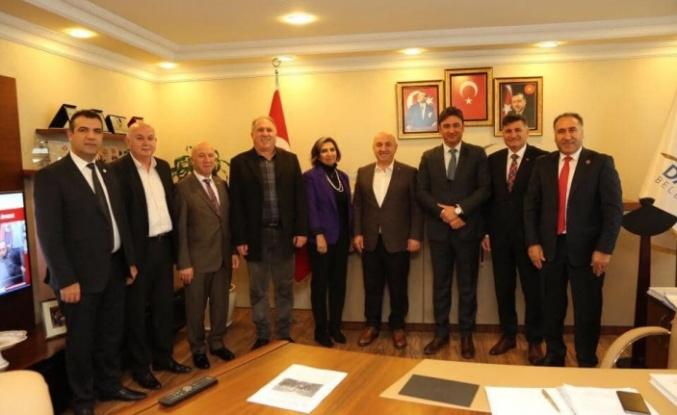 Sarıkamış Platformundan Darıca Belediye Başkanı Bıyık'a ziyaret