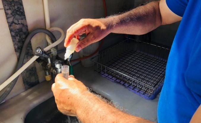 Gebze'nin Şebeke suları Denetlenmeye devam ediliyor