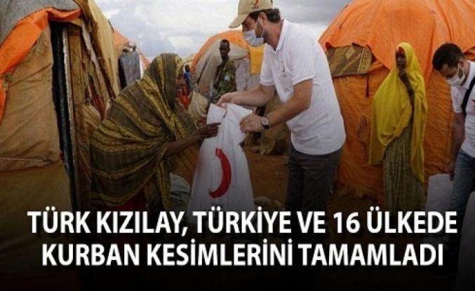Kızılay Türkiye ve 16 Ülkede Kurban Kesimlerini Tamamladı