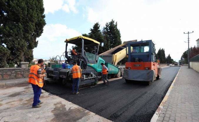 Derince'de altyapısı biten cadde ve sokaklar asfaltlanıyor