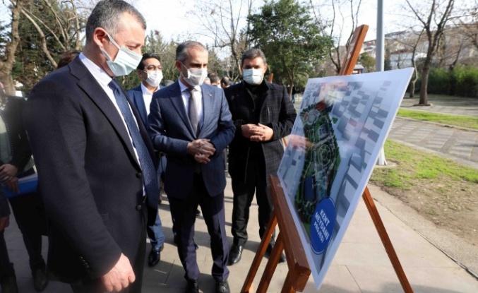 Başkan Büyükakın, ''Kent Meydanı, Çayırova'yı taçlandıracak''