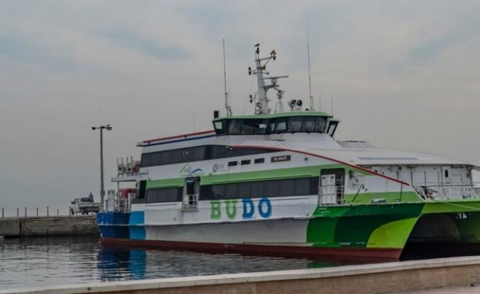Deniz Otobüslerinin bazı seferleri iptal edildi