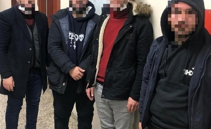 Dilovası'nda 4 düzensiz göçmen yakalandı