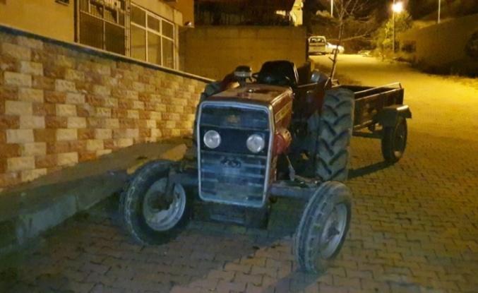 Traktör hırsızlığı şüphelisi gözaltına alındı
