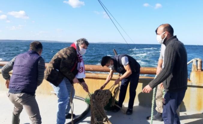 Kandıra'da balıkçı tekneleri denetlendi