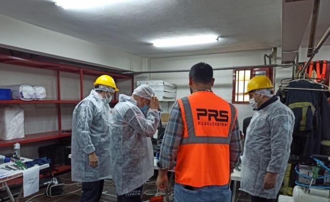 Manisa'da itfaiye personellerine makine bakım eğitimi