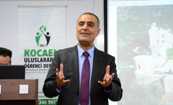 Ercan Yamen, Uluslararası Öğrenci Derneğine Kocaeli'yi anlattı