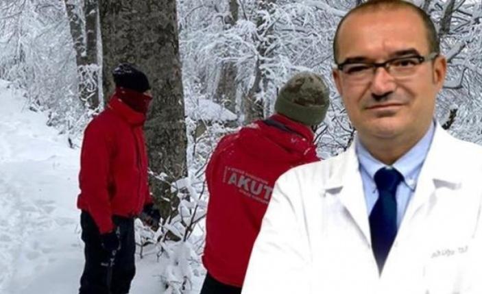 Kartepe'de kaybolan doktorun cesedi bulundu