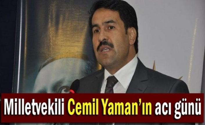 Cemil Yaman'ın kayınpederi vefat etti