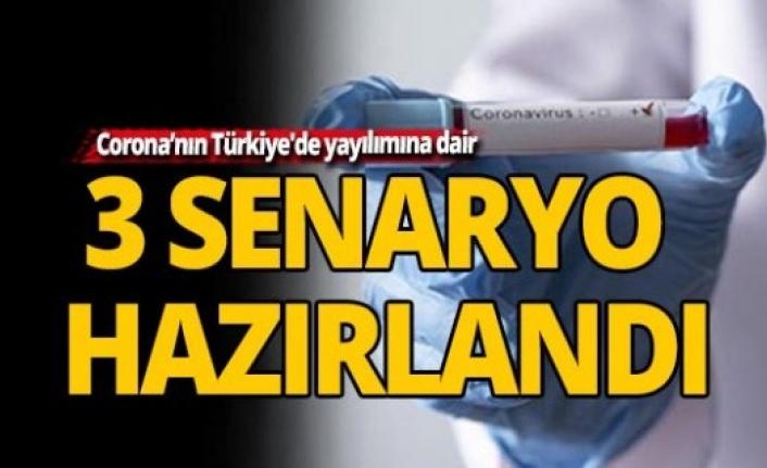 Koronavirüsün Türkiye'de Yayılımına Dair 3 Yeni Senaryo
