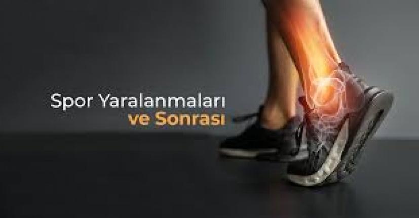 Spor Yaralanmalarını önlemek için İpuçları.