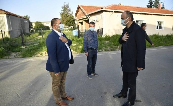 Edirne Valisi Canalp köyleri ziyaret ederek