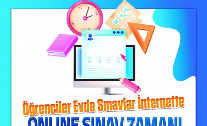 Muğla Büyükşehir'den öğrencilere online sınav desteği