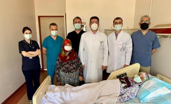 Bandırma'da kapalı yöntemle kalp deliği kapama operasyonu gerçekleştirildi