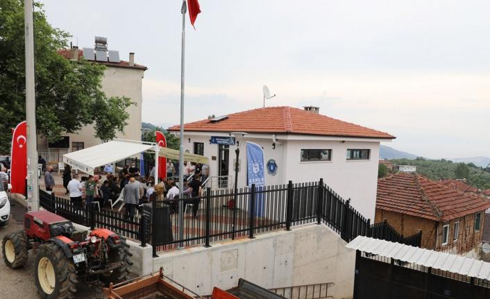 Bursa Mudanya kırsalında Çepni Konağı hizmete girdi