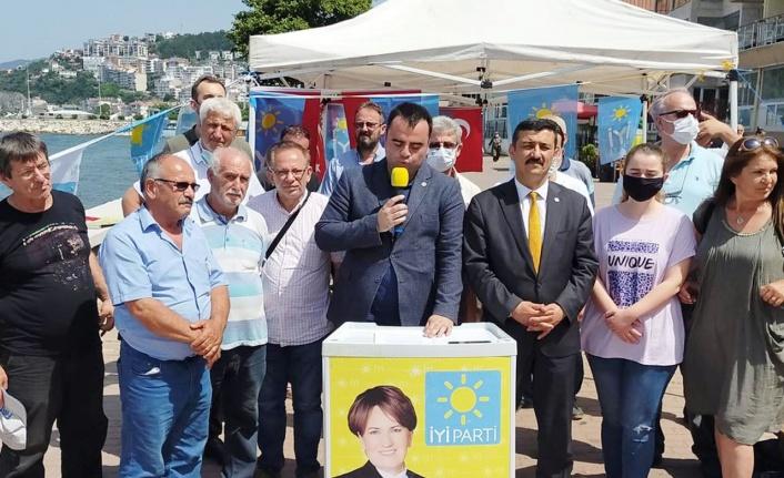 Büyükşehir'in zabıta operasyonuna İYİ Parti'den kınama
