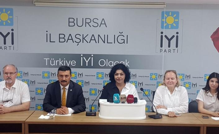 Bursa'da İYİ Parti'den 'Uyuşturucu Platformu' önerisi