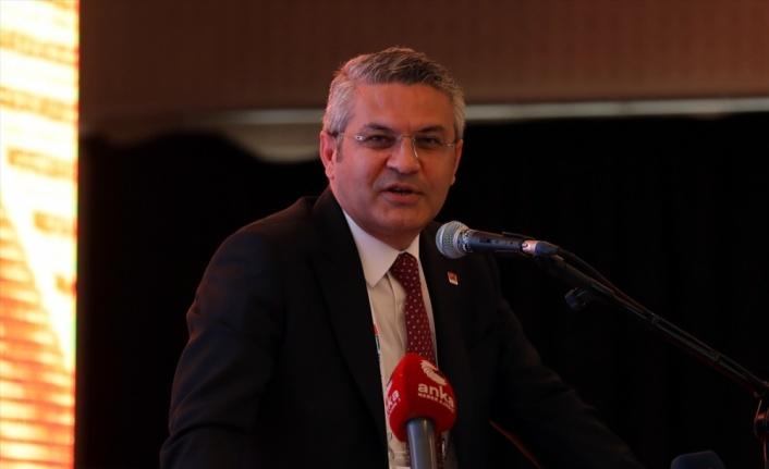 CHP Sözcüsü Öztrak, partisinin Trakya Bölge Toplantısı'nda konuştu: