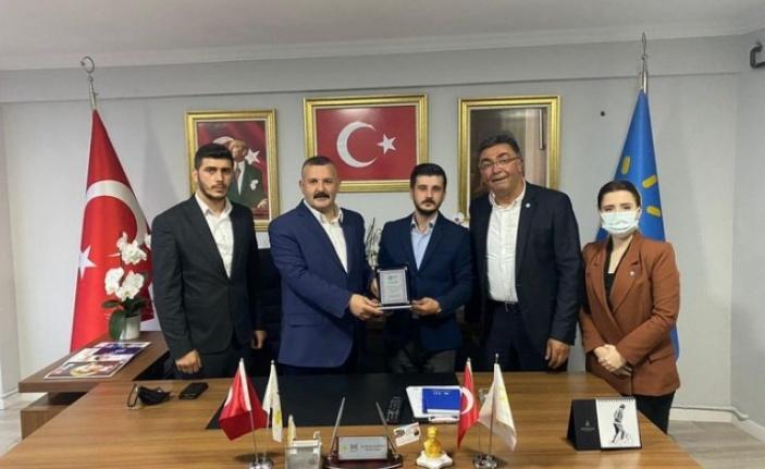 İYİ Parti Gebze'de görev değişimi