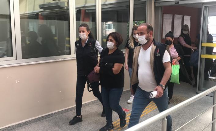Kocaeli merkezli 6 ilde gerçekleştirilen operasyonda gözaltına alınan 7 kişi adliyede