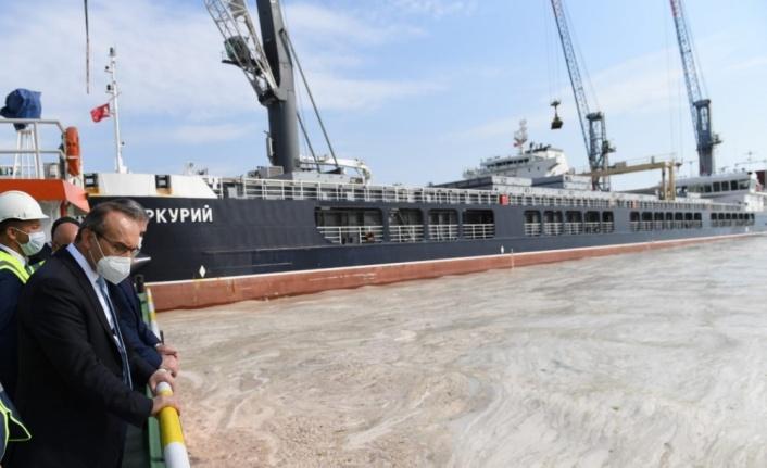 Kocaeli Valisi Seddar Yavuz, müsilaj temizleme çalışmalarını inceledi
