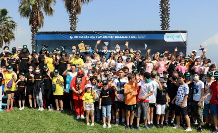 Kocaeli'de su sporları festivali yapıldı