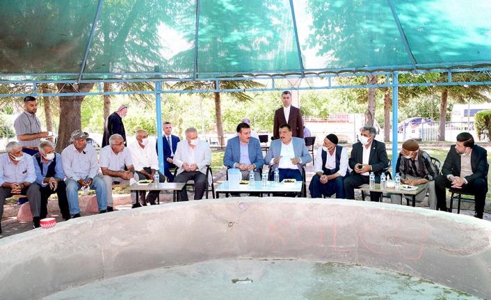 Malatya'da Hatunsuyu Mahallesi'ne hizmet ziyareti
