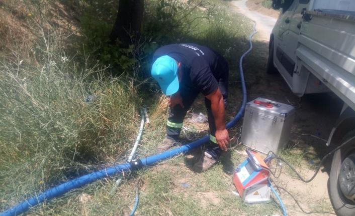 Manisa Gölmarmara'da su sorunu çözülüyor
