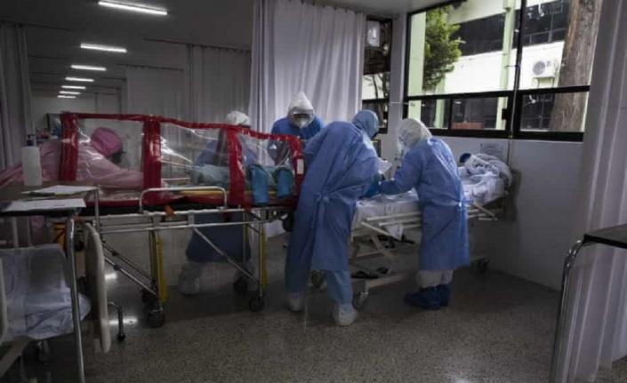 Meksika'da Koronavirüs kabusu