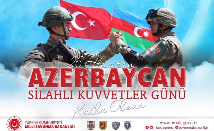 MSB'den Azerbaycan'a kutlama